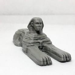 Download STL file sphinx • 3D printer design, Adel85
