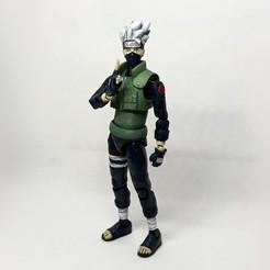 Descargar diseños 3D Figura de acción de Kakashi (del anime Naruto), Adel85