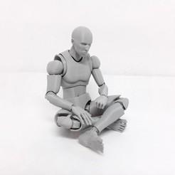 Descargar archivo 3D El Sr. Figura, la figura de acción impresa en 3D, Adel85