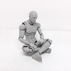 20191225_213932.jpg Download STL file Mr figure the 3D printed action figure • 3D printable model, Adel85