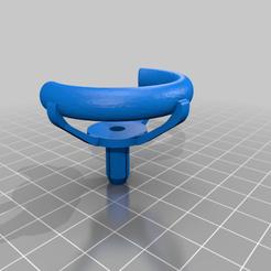 Download free 3D printer designs PopSocket Pop Clip w/ Rivet, numberninety8