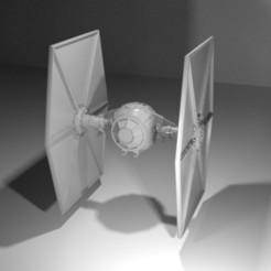 Télécharger modèle 3D TIE fighter, pierrevdl