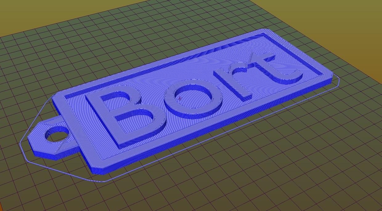 bort repetier.jpg Télécharger fichier STL gratuit Plaque d'immatriculation Bort • Objet pour impression 3D, Leo262Leon