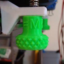 Descargar diseños 3D gratis Perilla de nivel de cama Tuerca M3, majrmjr