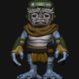 Download 3D printing files Star Wars Fan Art - Babu Frik 1/4 Scale, GenesisAsis