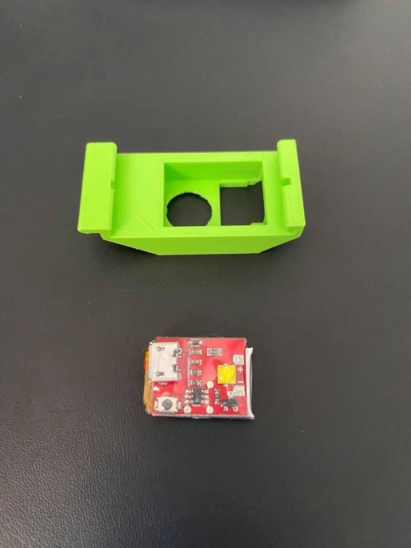 116427220_768620253679079_4770218007528842558_n.jpg Download free STL file Led Houder_DJI mavic mini - Flytron Strobo + USB  • 3D printing template, geertvanmarcke