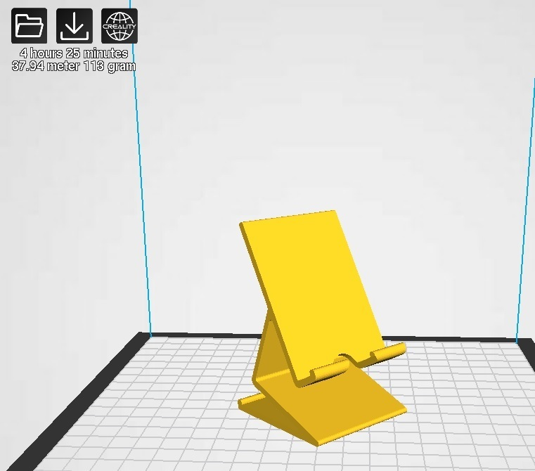 smart phone stand.jpg Download free STL file smartphone stand  • 3D printer template, cmhthebest