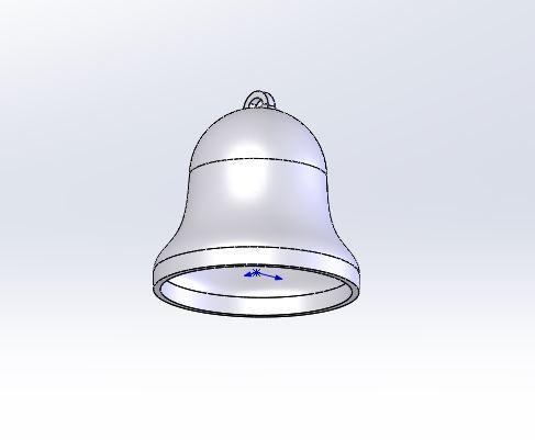 3.JPG Télécharger fichier STL gratuit Facile à imprimer Bell • Plan à imprimer en 3D, jancikoas15