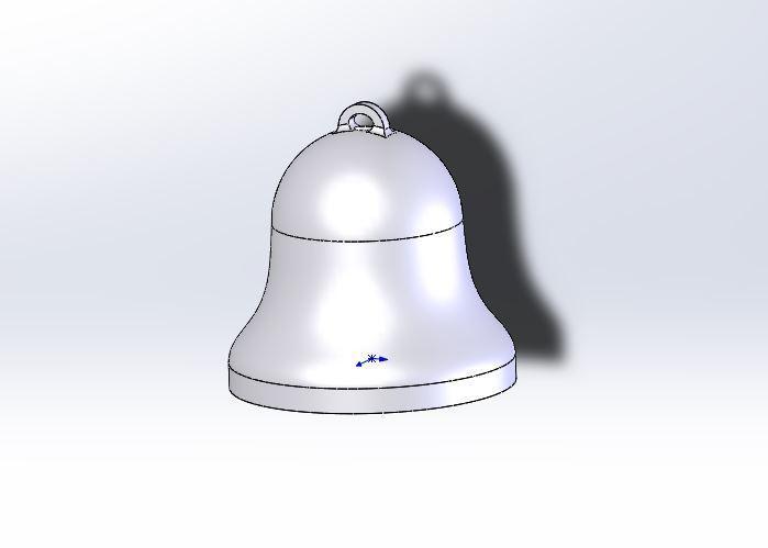 1.JPG Télécharger fichier STL gratuit Facile à imprimer Bell • Plan à imprimer en 3D, jancikoas15