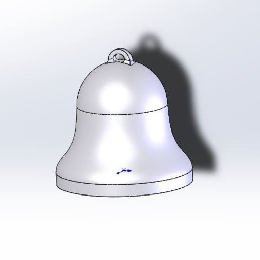 Download free 3D printing designs Easy to print Bell, jancikoas15
