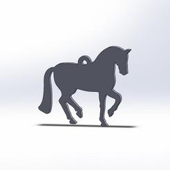 Horse earrings.JPG Download STL file horse earrings • 3D printer object, jancikoas15