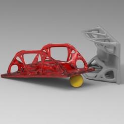 KS®5557932510.120.jpg Télécharger fichier STL Pont biomorphique topologiquement optimisé • Modèle imprimable en 3D, TopOpt3D