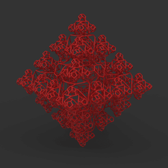 view1.png Download STL file Fractal structure • 3D printing model, TopOpt3D