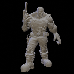 Descansando.png Télécharger fichier STL Chasseur (aventure) - 2 • Plan pour impression 3D, drvictoro