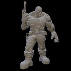 Descansando.png Download STL file Hunter (adventure) - 2 • 3D printer object, drvictoro