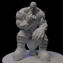 Pensando4.png Download STL file Hunter (adventure) - 3 • 3D printing object, drvictoro