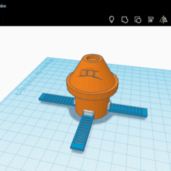 Download free STL files capsule orion NASA, Space3D