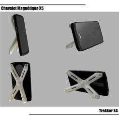 Chevalet X5 Vignette Cults.jpg Télécharger fichier STL Chevalet X5 pour Trekker X4 • Modèle à imprimer en 3D, seb-briand
