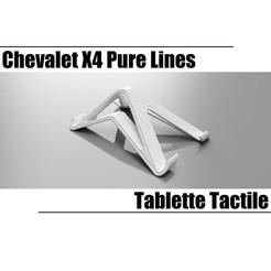 Descargar modelos 3D para imprimir Tableta táctil de líneas puras X4, seb-briand