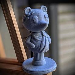 il_1140xN.2311791990_2j14.jpg Télécharger fichier STL Animal Crossing STL Pack - Tom Nook Bust, Bell Bag & Fossil • Plan pour imprimante 3D, MishrasPrintFactory