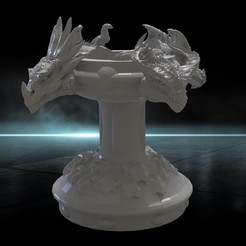 new.1.1.jpg Télécharger fichier STL buste de dragon • Design à imprimer en 3D, shahbazovelmeddin