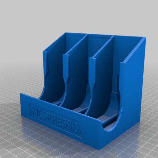 nespresso_capsule_dispenser_what_else.png Télécharger fichier STL gratuit Distributeur de capsules Nespresso • Modèle pour imprimante 3D, MatFeex