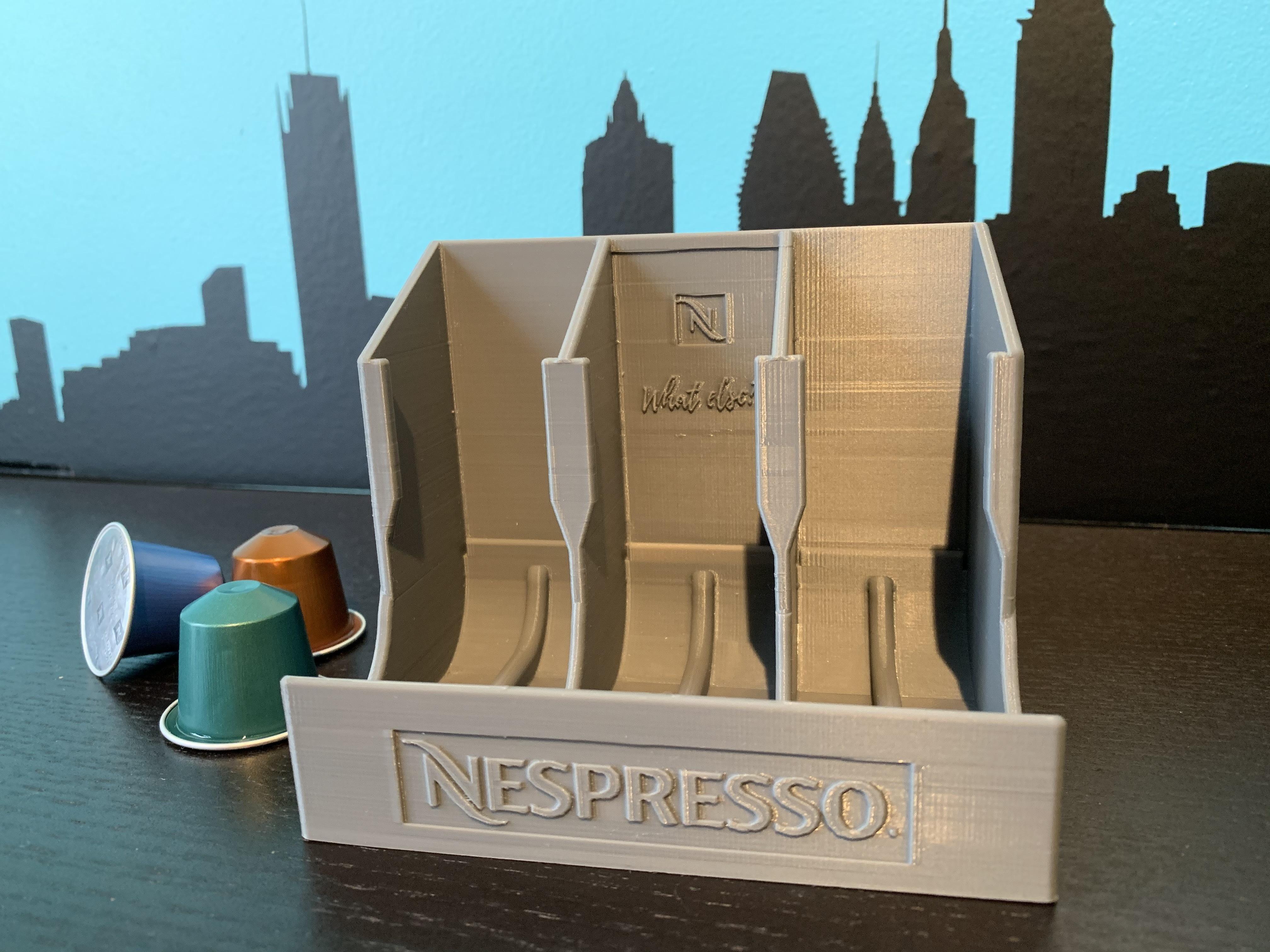 IMG_3683.jpg Télécharger fichier STL gratuit Distributeur de capsules Nespresso • Modèle pour imprimante 3D, MatFeex