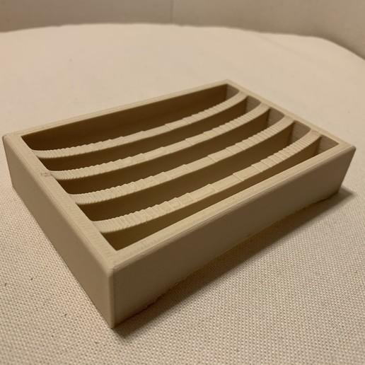 IMG_3565.jpg Download free STL file Soap holder - Porte savon • 3D printing design, MatFeex