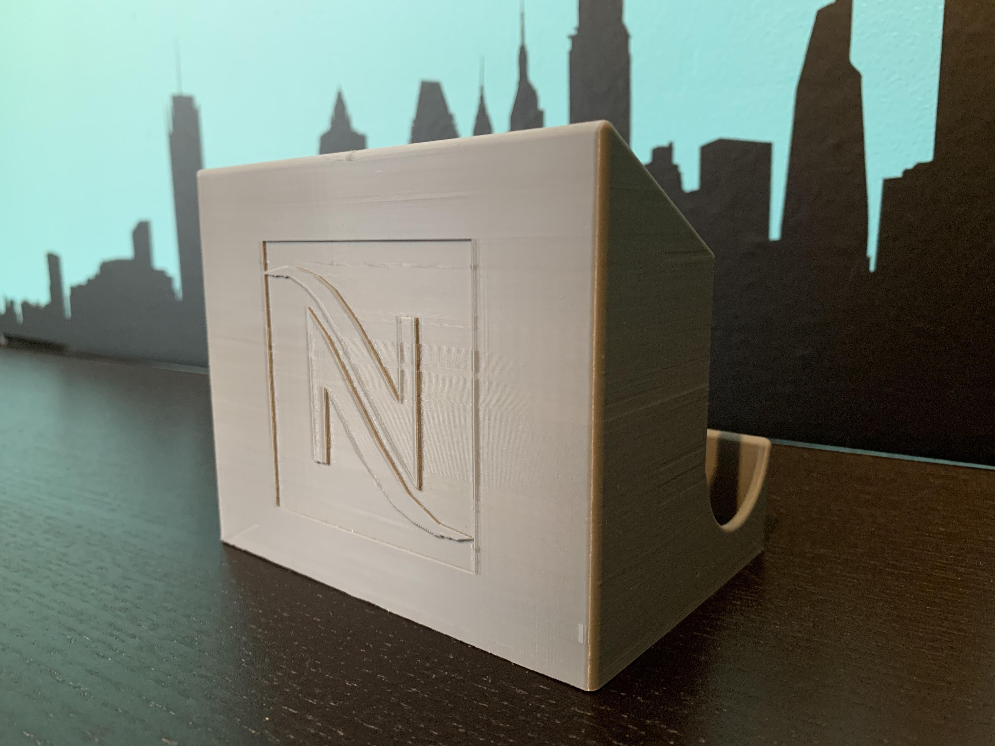 IMG_3669_1.jpg Télécharger fichier STL gratuit Distributeur de capsules Nespresso • Modèle pour imprimante 3D, MatFeex