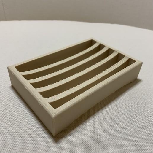 IMG_3562.jpg Download free STL file Soap holder - Porte savon • 3D printing design, MatFeex