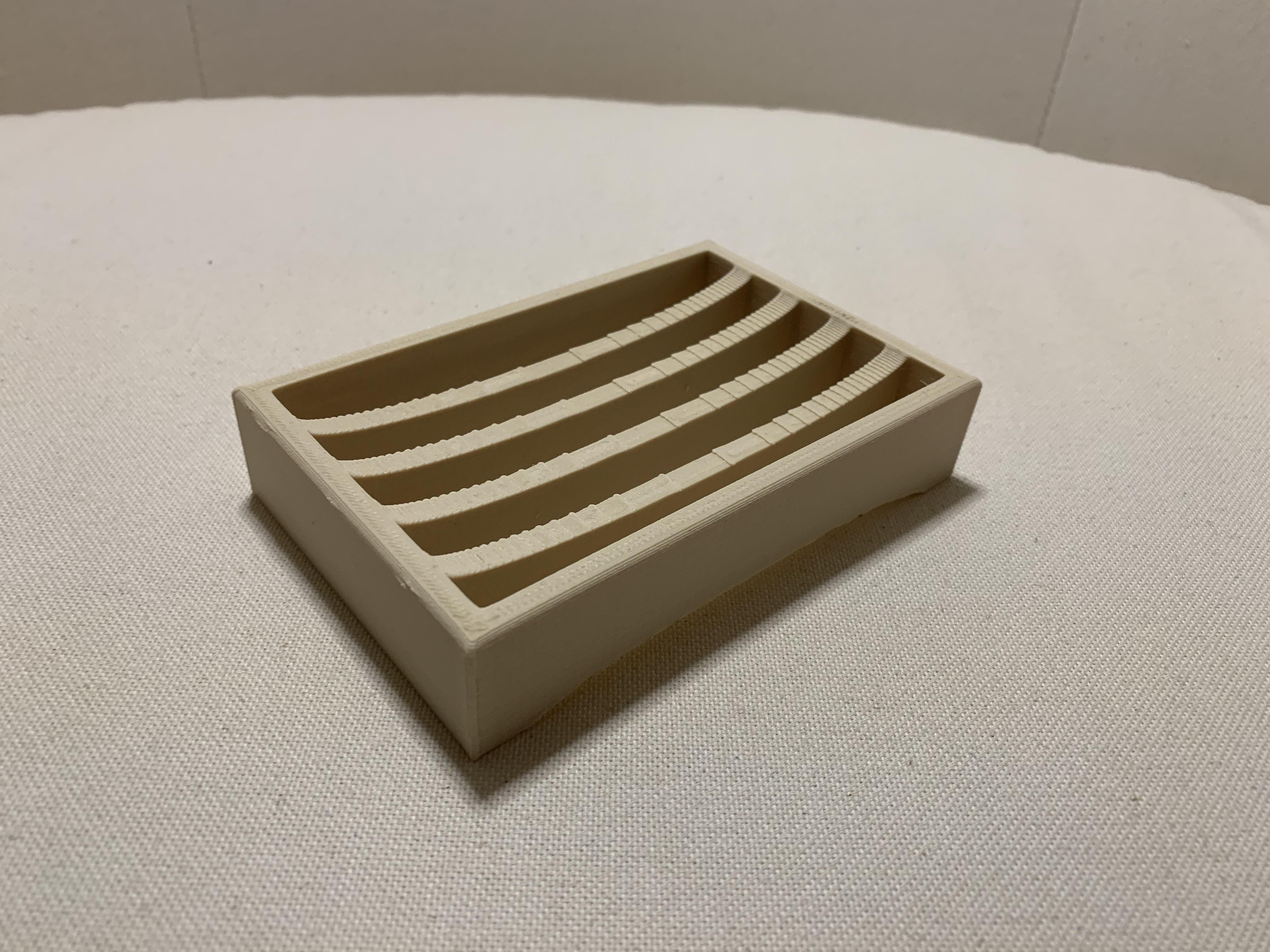 IMG_3567.jpg Download free STL file Soap holder - Porte savon • 3D printing design, MatFeex
