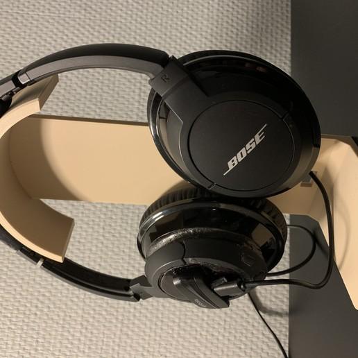 Download free 3D model Support Casque  - Headphone Holder, MatFeex