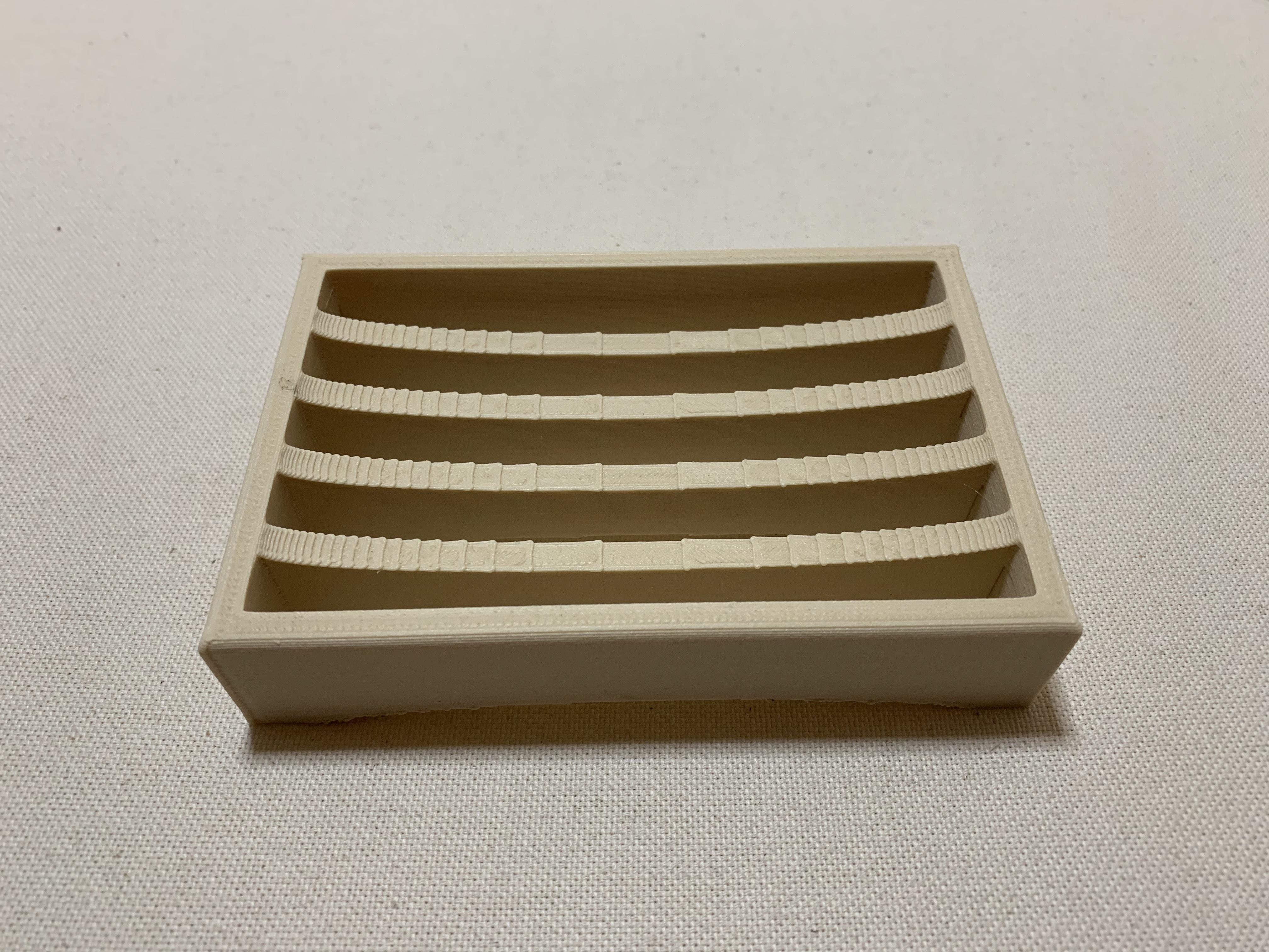 IMG_3563.jpg Download free STL file Soap holder - Porte savon • 3D printing design, MatFeex