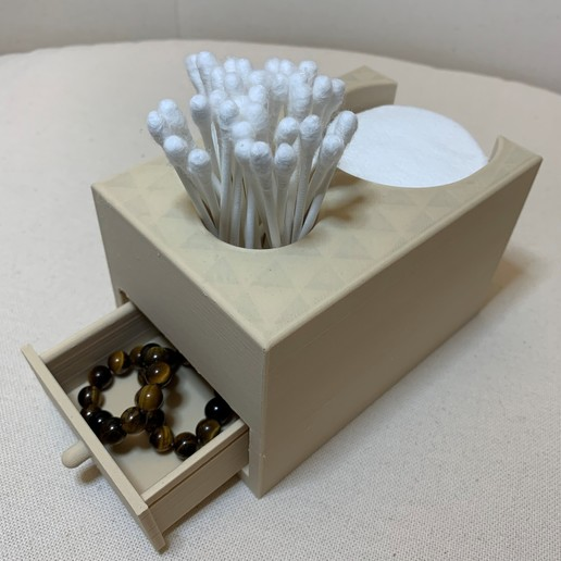 Download free 3D printing designs Bathroom box / with drawer, MatFeex