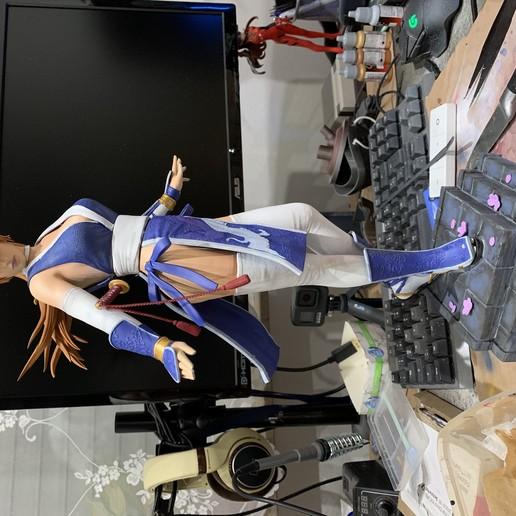 Télécharger STL Kasumi Dead or Alive Statue Fan-art 3d Printable 3D print model, the_le_thonkk