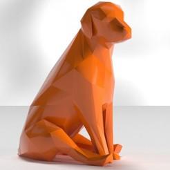 Télécharger fichier STL gratuit low poly puppy • Design pour impression 3D, the3darchprint