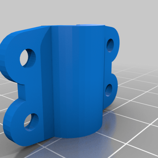 bowden_fix_v4_.png Télécharger fichier OBJ gratuit Fixation de l'attelage Bowden pour Ender 3 • Plan à imprimer en 3D, taninoycarestias