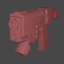 Van Zaar Plasma Pistol.jpg Download free STL file Van Zaar Plasma Pistol • 3D printable design, ZeDarkPenguin