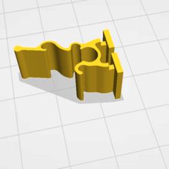 VWSeatClip2.png Télécharger fichier STL gratuit Clip de siège pour Volkswagen Jetta 2008 • Objet pour imprimante 3D, BenAcevedo