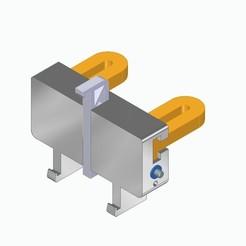 Conjunto.jpg Download free STL file Adjustable ipad and tables, car headboards • 3D print template, dtiehc