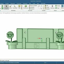 Switch Dock.JPG Download free STL file Switch Dock with Pipe • Design to 3D print, DohDoh_AUT