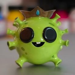 virucito.jpg Télécharger fichier STL Coronavirus le plus mignon ♥︎ • Objet pour imprimante 3D, InmortalStudios