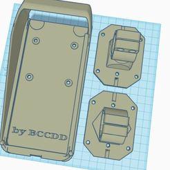 Descargar modelo 3D gratis carcasa vertical iphone XR iphone 11 bici moto bicicleta, Bccdd