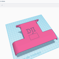 Impresiones 3D visera DJI Mavic Pro Air Mini, Bccdd