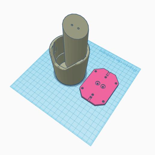 soporte posa vasos coche.png Télécharger fichier STL gratuit soporte porta vasos para coche • Design pour impression 3D, Bccdd