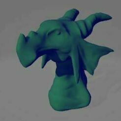 drago.JPG Télécharger fichier OBJ Buste du dragon d'eau • Objet pour imprimante 3D, Oddsockzx