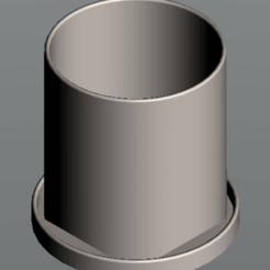 Plant_Pot.png Télécharger fichier STL Pot de plantes de 4 pouces • Objet à imprimer en 3D, maclakey