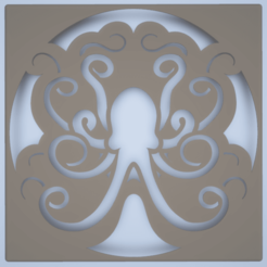 octopus_drain.png Download STL file Octopus Drain Cover for Wedi Fundo Primo • 3D printable template, maclakey