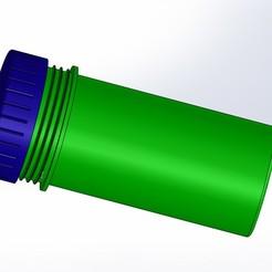 Descargar STL gratis Recipiente de plástico con tapa, Crazy_Kamaz