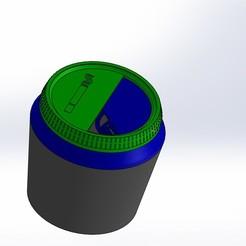Impresiones 3D gratis Cenicero de coche, Crazy_Kamaz